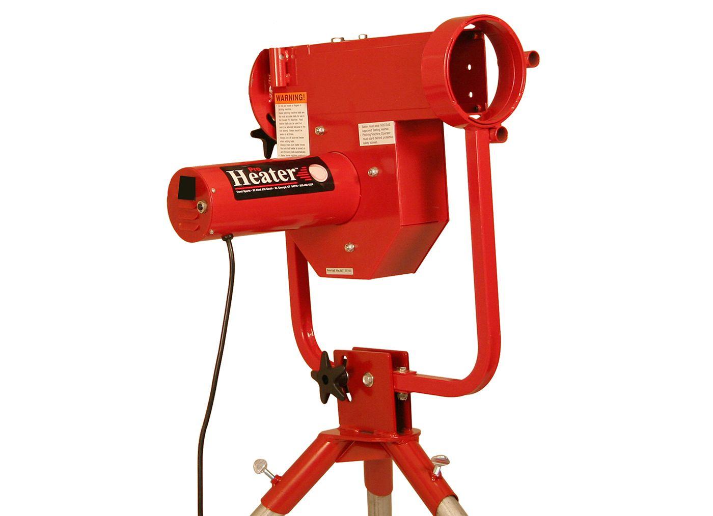 Heater Pro Curve Baseball Pitching Machine