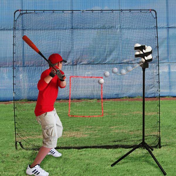 Heater Big League Soft Toss Pitching Machine W Practice