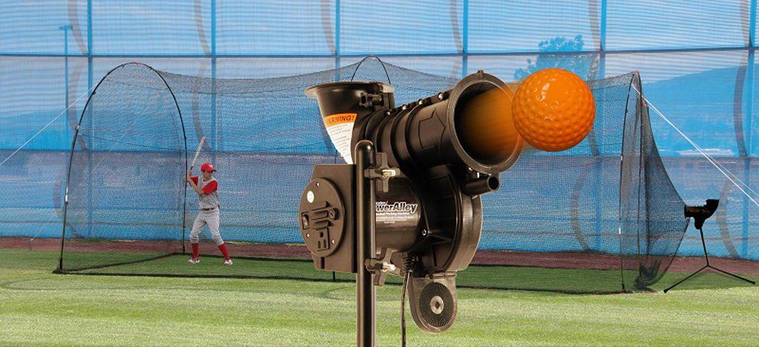 Heater Poweralley Lite Baseball Pitching Machine Amp Home 20