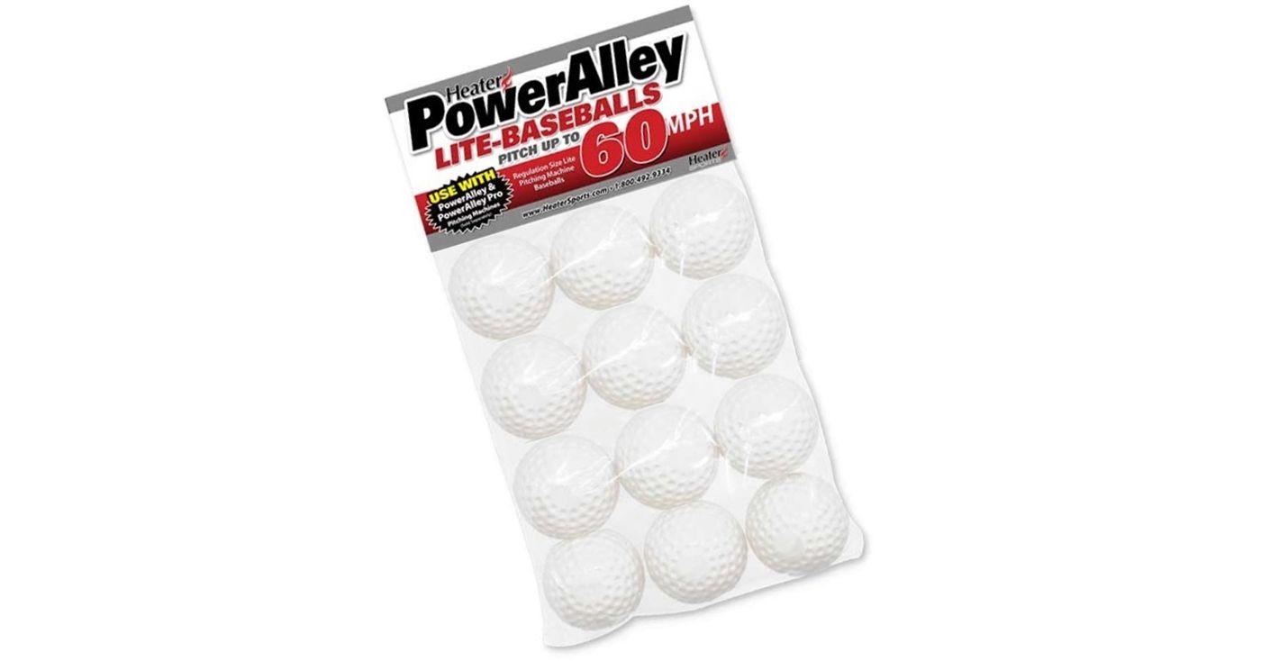 Heater Slider Pitching Machine Lite-Balls - 12 Pack