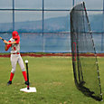 Heater Spring Away Batting Tee & Big Play Net