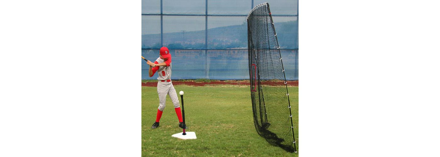 Heater Spring Away Batting Tee & Big Play Net