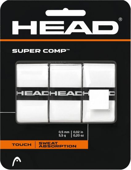 HEAD Super Comp Overgrip Tape – 3 Pack