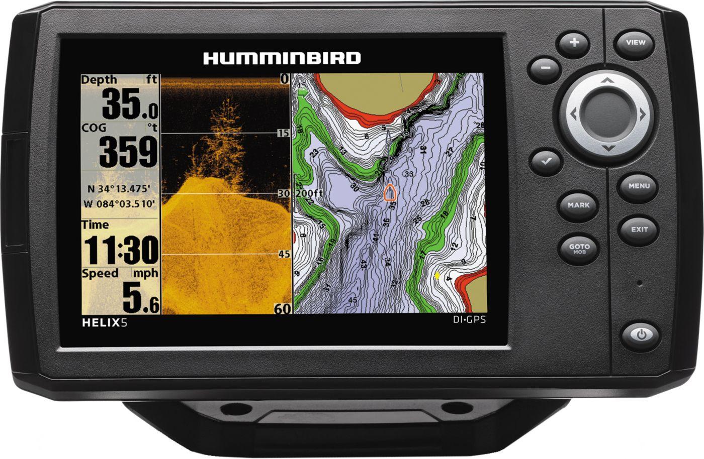 Humminbird Helix 5 G2 DI GPS Fish Finder (410220-1)