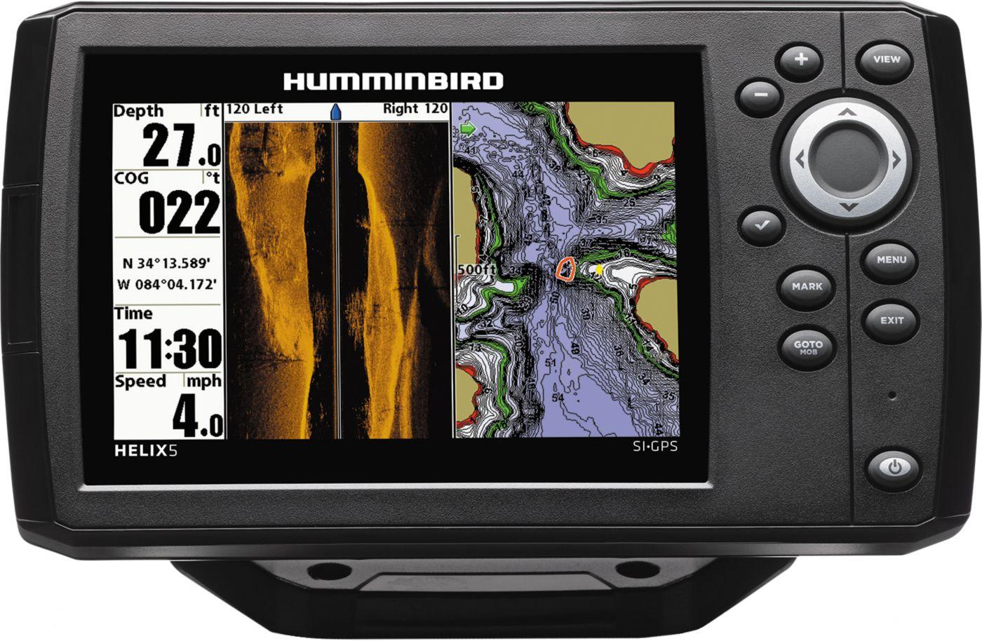 Humminbird Helix 5 G2 SI GPS Fish Finder (410230-1)