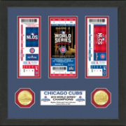 Highland Mint 2016 World Series Champions Chicago Cubs Ticket Collection
