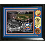 Highland Mint New York Mets Shea Stadium Final Season Dirt Coin Showcase Photo Mint