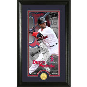 Highland Mint Boston Red Sox Dustin Pedroia Supreme Bronze Coin Photo Mint