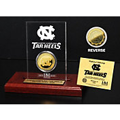 The Highland Mint North Carolina Tar Heels Gold Coin Etched Acrylic