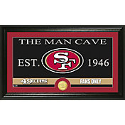 The Highland Mint San Francisco 49ers 'The Man Cave' Framed Bronze Coin Photo Mint