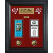 The Highland Mint Tampa Bay Buccaneers Super Bowl Ticket and Coin Collection