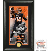 Highland Mint Cincinnati Bengals Andy Dalton Supreme Bronze Coin Photo Mint