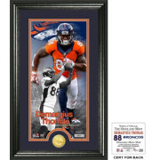 Highland Mint Denver Broncos Demaryius Thomas Supreme Bronze Coin Photo Mint