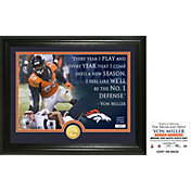 "Highland Mint Denver Broncos Von Miller ""Quote"" Bronze Coin Photo Mint"
