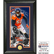 Highland Mint Denver Broncos Von Miller Supreme Bronze Coin Photo Mint