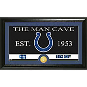 The Highland Mint Indianapolis Colts 'The Man Cave' Framed Bronze Coin Photo Mint