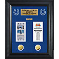 The Highland Mint Indianapolis Colts Super Bowl Ticket and Coin Collection