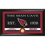 The Highland Mint Arizona Cardinals 'The Man Cave' Framed Bronze Coin Photo Mint
