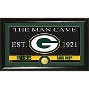 The Highland Mint Green Bay Packers 'The Man Cave' Framed Bronze Coin Photo Mint