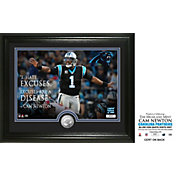 "Highland Mint Carolina Panthers Cam Newton ""Quote"" Silver Coin Photo Mint"