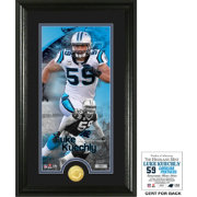 Highland Mint Carolina Panthers Luke Kuechly Supreme Bronze Coin Photo Mint