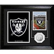 The Highland Mint Oakland Raiders Framed Memories Photo Mint