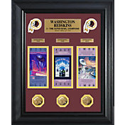 The Highland Mint Washington Redskins Super Bowl Ticket and Coin Collection