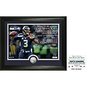 "Highland Mint Seattle Seahawks Russell Wilson ""Quote"" Silver Coin Photo Mint"