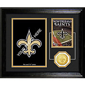 The Highland Mint New Orleans Saints Framed Memories Photo Mint