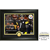 Highland Mint Pittsburgh Steelers Ben Roethlisberger 'Quote' Bronze Coin Photo Mint