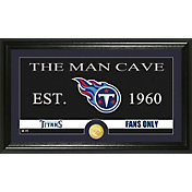 The Highland Mint Tennessee Titans 'The Man Cave' Framed Bronze Coin Photo Mint