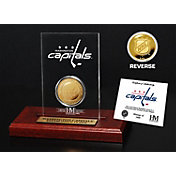 The Highland Mint Washington Capitals Gold Coin Etched Acrylic