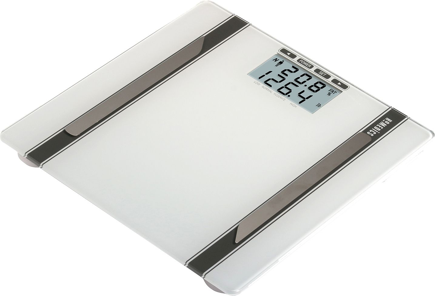 Homedics White Scale Body Composition Yzer