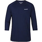 Hurley Men's Dri-FIT One & Only 3/4 Sleeve Raglan Shirt