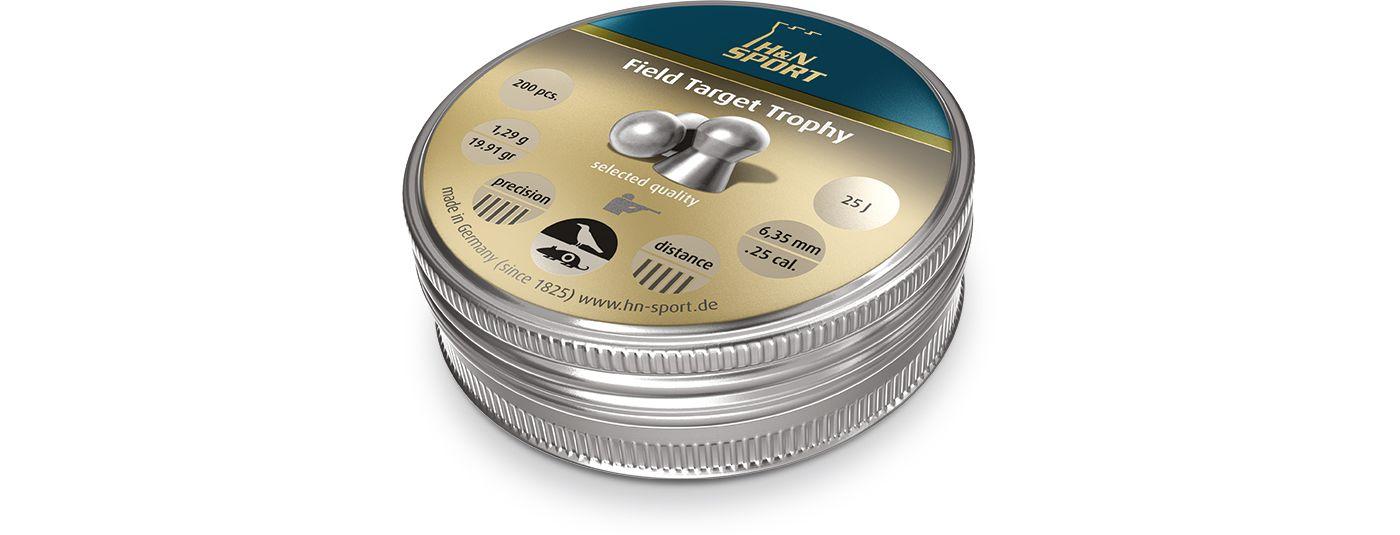 H&N Field Target Trophy Pellets - .25 Cal