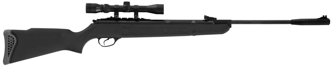 Hatsan Mod 125 Vortex .25 Caliber Pellet Gun Package - Black