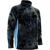 Huk Men's Kryptek Quarter-Zip Fleece Pullover