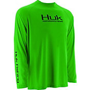 Huk Boys' Performance Raglan Long Sleeve Shirt