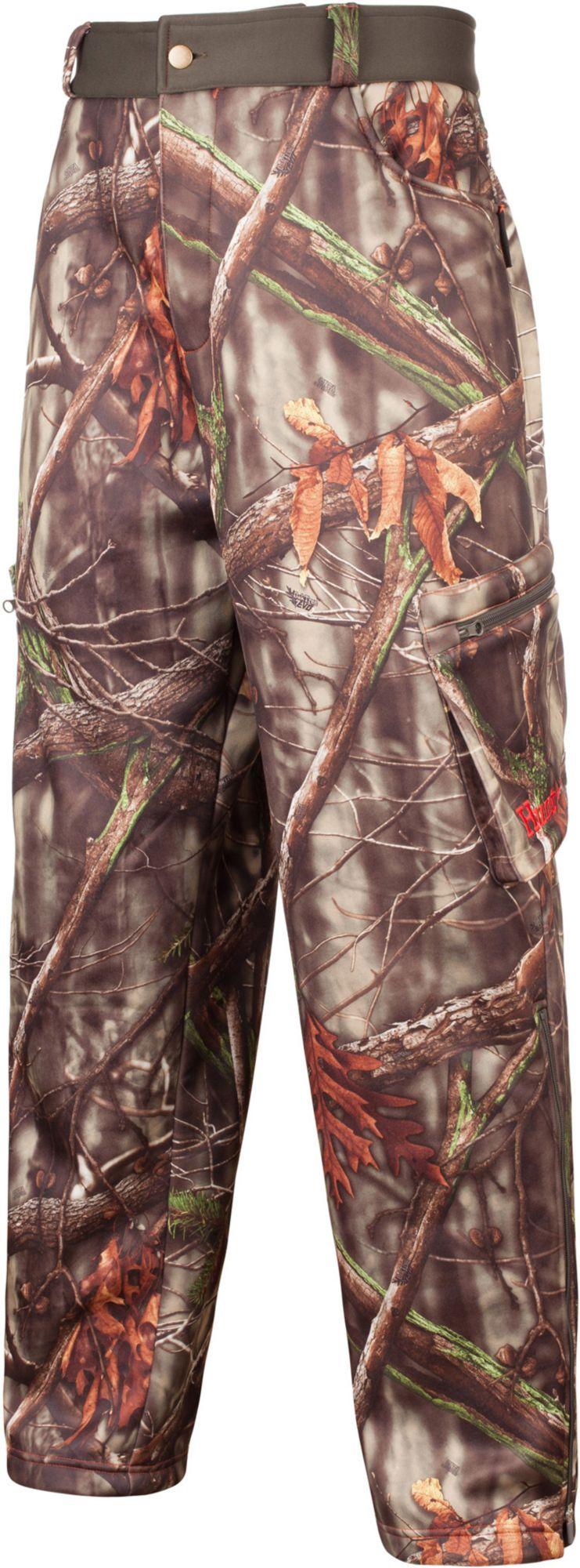 Huntworth Men's Soft Shell Hunting Pants, Size: Medium, Green thumbnail