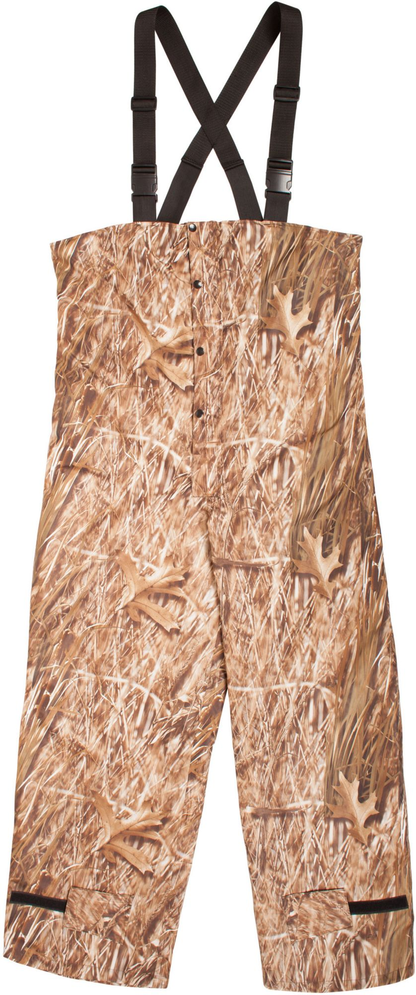 Huntworth Waterfowl WP Micro Bibs, Men's, Size: XL, Green thumbnail