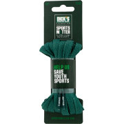 "The DICK'S Sporting Goods Foundation: Sports Matter Green Flat 54"" Laces"
