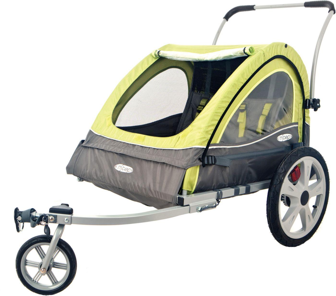 InSTEP Sierra Double Bike Trailer and Stroller