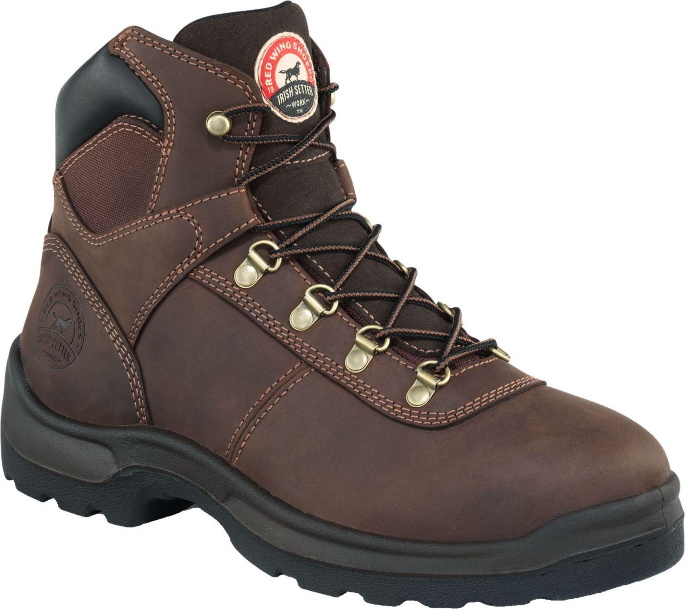 Irish Setter Men's Ely 6'' Waterproof Steel Toe Work Boots