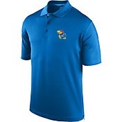Top of the World Men's Kansas Jayhawks Blue Spector Polo