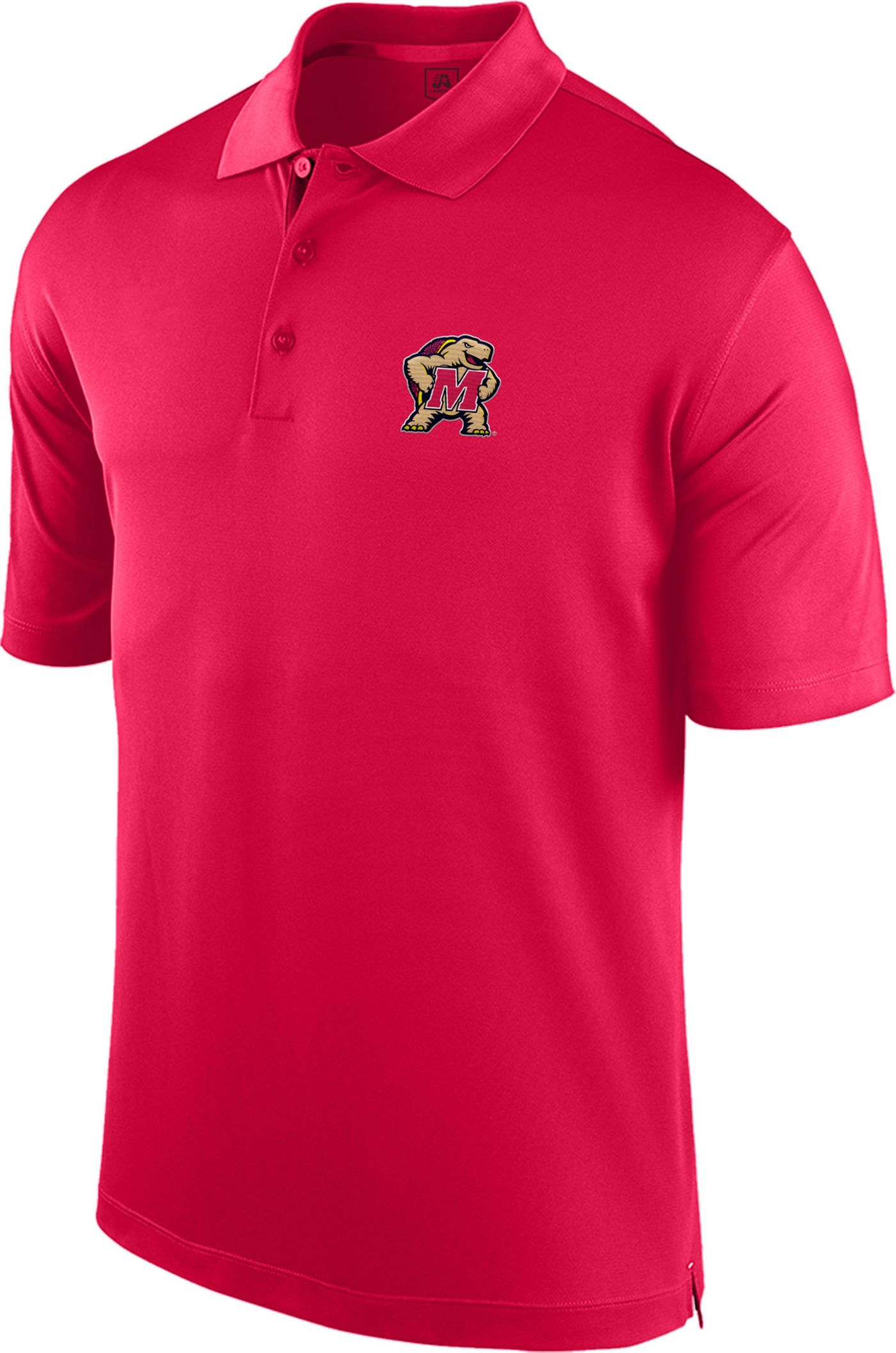 Top of the World Men's Maryland Terrapins Red Spector Polo