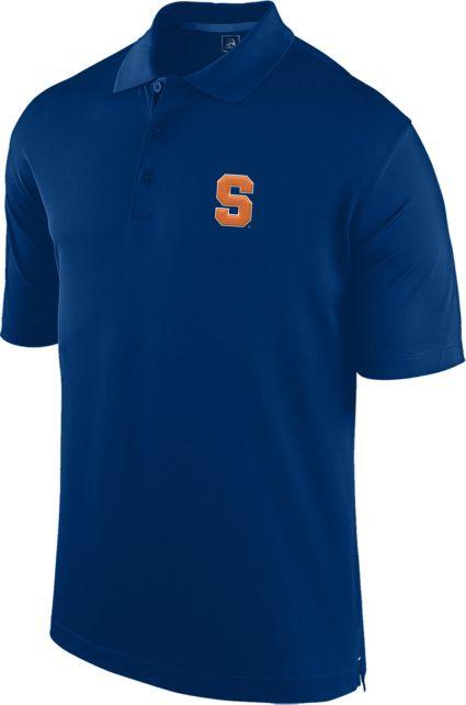 J. America Men's Syracuse Orange Blue Spector Polo