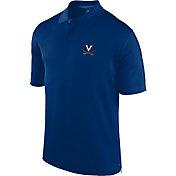 J. America Men's Virginia Cavaliers Blue Spector Polo