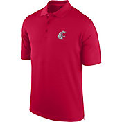J. America Men's Washington State Cougars Crimson Spector Polo