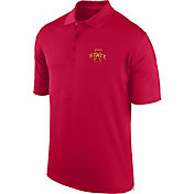Top of the World Men's Iowa State Cyclones Cardinal Spector Polo