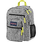 JanSport Big Student Backpack in Black Ziggy